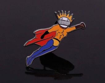 Boognish Blastman Pin