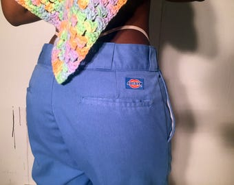 Vintage Dickies Light Blue Work Pants 1990s