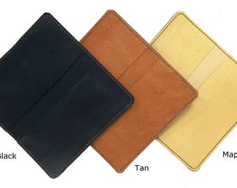 Leather Checkbook Cover  FREE US Shipping!