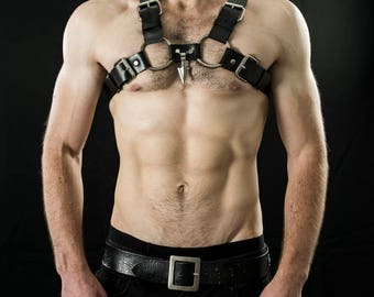 men leather harness