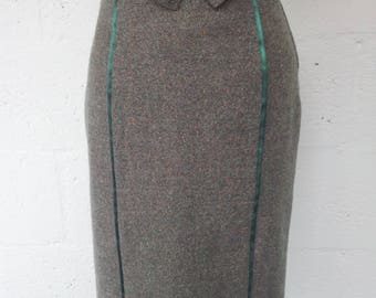Retro Pencil Skirt