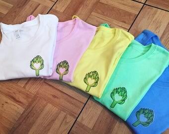 Artichoke Heart Yellow T-Shirt