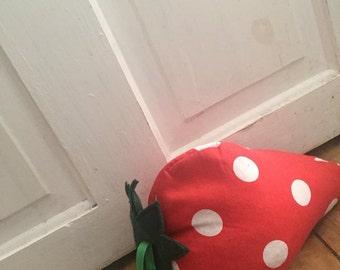Sally Strawberry Doorstop