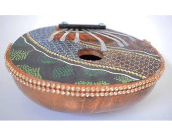 Kalimba Indian Folk Musical Instrument