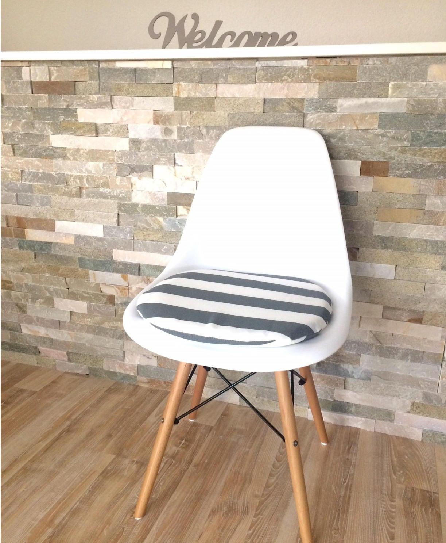 6cm ou 3 cm coussin fait main pour chaise eames avec fermeture - Coussin chaise eames ...