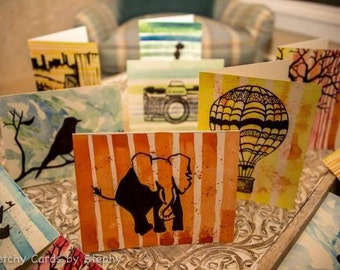 Hand Painted and Individualed Sketched Cards