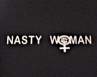 Nasty Woman with Women's Symbol