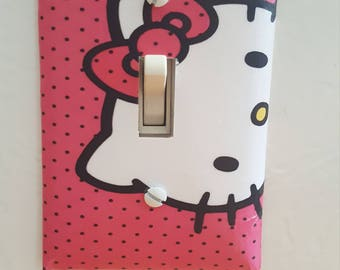NEW!! Hello Kitty Light Switch Plate Cover