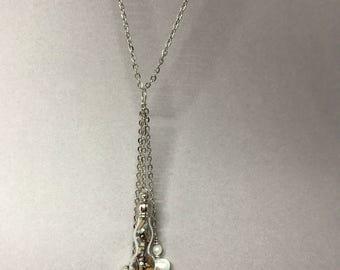Botanical Talisman necklace, love charm.