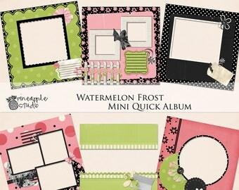 Digital Scrapbook, Scrapbook Kit, Instant download, Quick Album, Digital Scrapbook, Scrapbook Paper, Scrap4Hire, Digital Kit