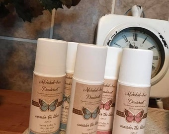 All Natural Deodorant made with Essential Oils