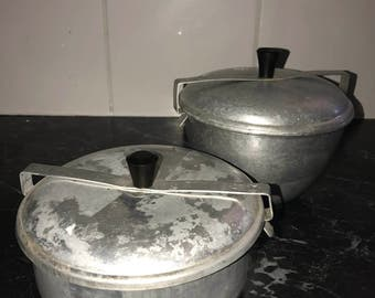 Pudding steamers/retro steamer/ vintage  steamers/ aluminium steamers