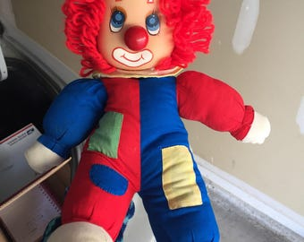 Vintage clown doll musical nose