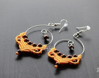 Handmade Macrame earrings
