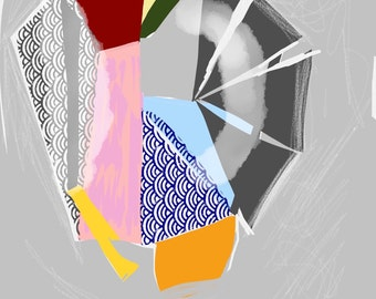 Art Book contemporary geometric digital prints #12