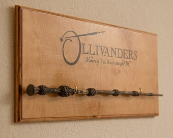 Ollivanders Wand Display - Harry Potter - Single Wand Display