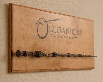 Ollivanders Wand Display - Harry Potter - Single Wand Display
