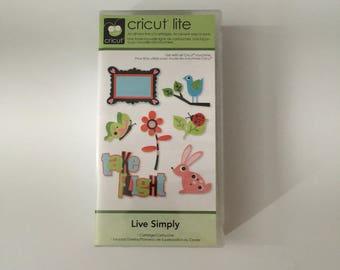 Live Simply Cricut