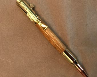 Maple Bolt Action Pen