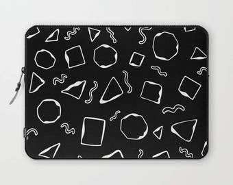 Geometric Laptop Sleeve, Laptop Cover, Laptop Sleeve 13, Laptop Sleeve 15, MacBook Sleeve 13, Laptop Sleeve 13 inch, Laptop Sleeve 15 inch