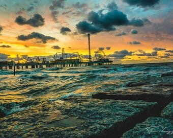 Landscape Canvas, Nature Canvas Art, Sunrise Art, Wall Decor Canvas, Gallery Wrap Fine Art, Photography Canvas, Large Canvas, Beach Canvas