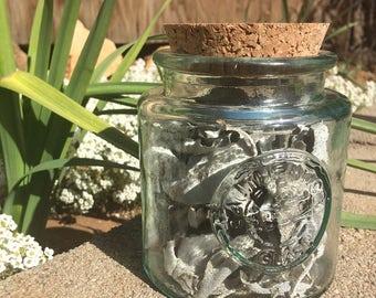 California White Sage loose in medium jar for smudging