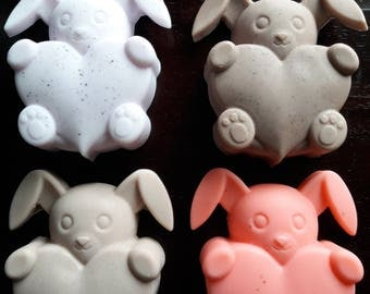Bunny with Heart- Goat's Milk Soap