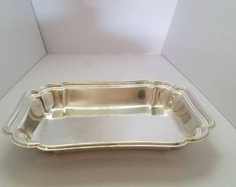 Chadwick #1512 International Silver Rectangular Serving Dish