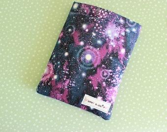 Galaxy Glitter Book Sleeve