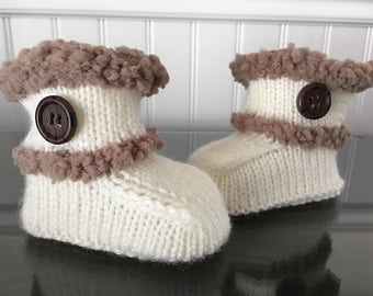 Booties for baby boy 0-3 months