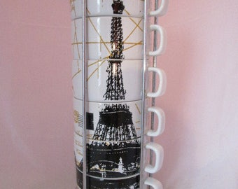 Eiffel Tower Stackable Teacup Valet