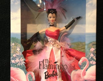 Barbie Doll The Flamingo Birds of Beauty Collection 1998 NRFB NEW!