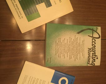Vintage Accounting Books