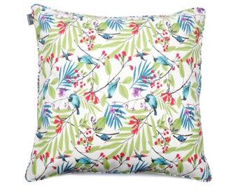 Colorful Bird of Paradise Pillow decorative high quality pillow