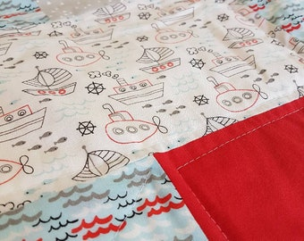 Tug Boat Baby/Kids Quilt