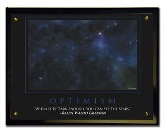 Optimism (Stars) Plaque