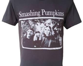 SAMSHING PUMKINS Rock Black Tshirt Q-176