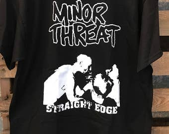 Minor threat punk band T-shirt