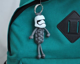 Stormtrooper from Star Wars paracord keychain