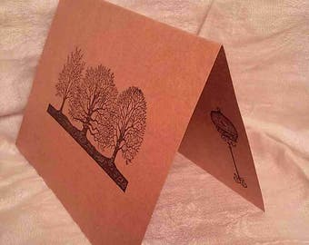 3 Nature Greeting Cards