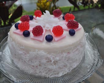 Handmade Natural Soap Cake