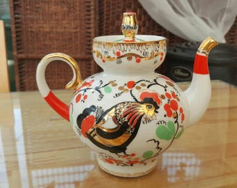 Lomonosov rooster teapot