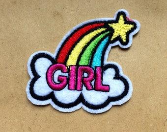 GIRL RAINBOW Patch