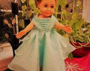 Mint Green Princess Dress