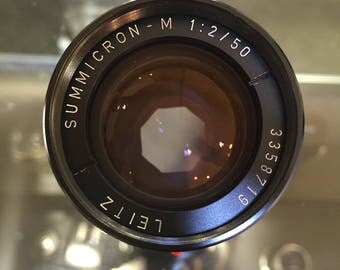 Leica Leitz Summicron-M 50mm f/2 black (ver.3)