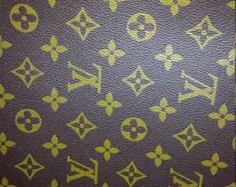 Classic LV Louis Vuitton Print