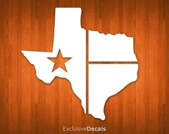 TEXAS DECAL, yeti decal texas, texas yeti decal, texas car decal, car decal texas, texas sticker, vinyl decal for tumbler, vinyl decal yeti