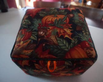 Fall Harvest-Dark Fabric Box