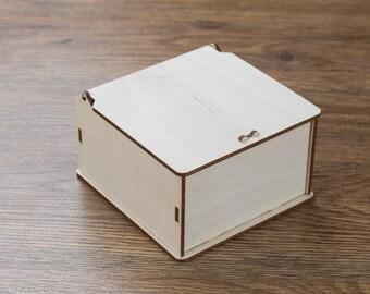 Custom wooden box, Memory box, Engraved wooden box, Custom engraved jewelry box, Keepsake box