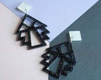 Deco Geometric Earrings
